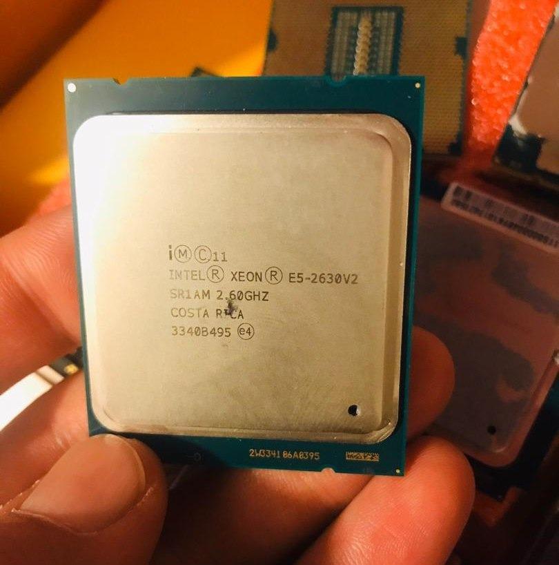 مشخصات پردازنده 2630 وی 2 (Intel Xeon E5-2630 v2)