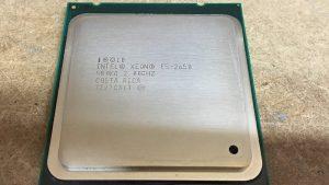 مشخصات پردازنده 2650 وی 1 زئون اینتل (Intel Xeon E5-2650 V1)