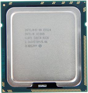 مشخصات پردازنده ای 5520 زئون اینتل (Intel Xeon E5520)
