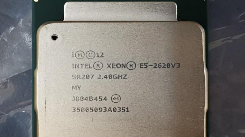 مشخصات پردازنده E5-2620 وی 3 (Intel Xeon E5-2620 v3)