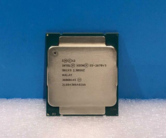 مشخصات پردازنده 2670 وی 3 (Intel Xeon E5-2670 v3)