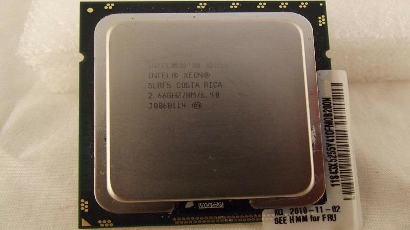 مشخصات پردازنده ایکس 5550 اینتل (Intel Xeon Processor X5550)