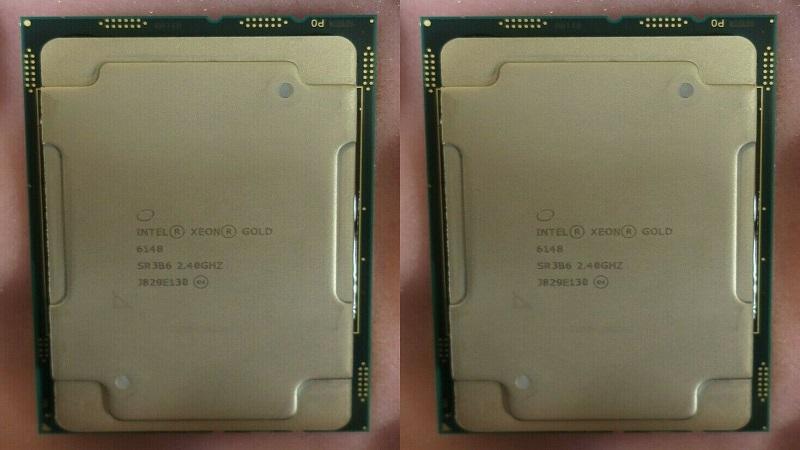 مشخصات پردازنده گلد 6148 زئون اینتل (Intel Xeon Gold 6148)