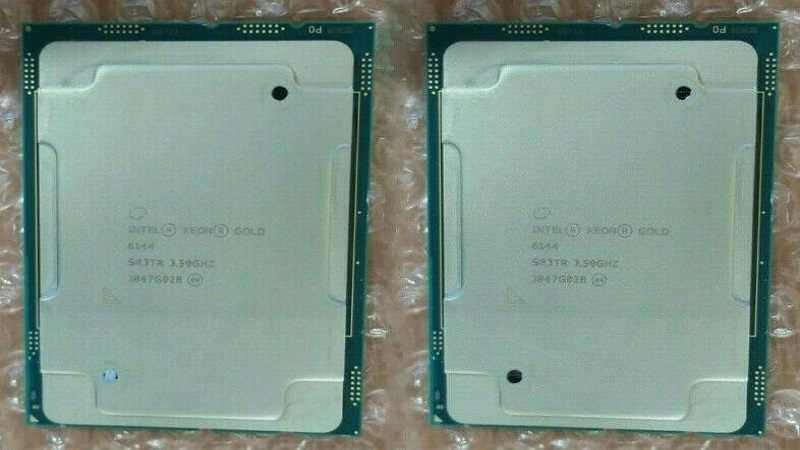 مشخصات پردازنده گلد 6144 زئون اینتل (Intel Xeon Gold 6144)