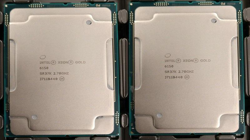 مشخصات پردازنده گلد 6150 زئون اینتل (Intel Xeon Gold 6150)