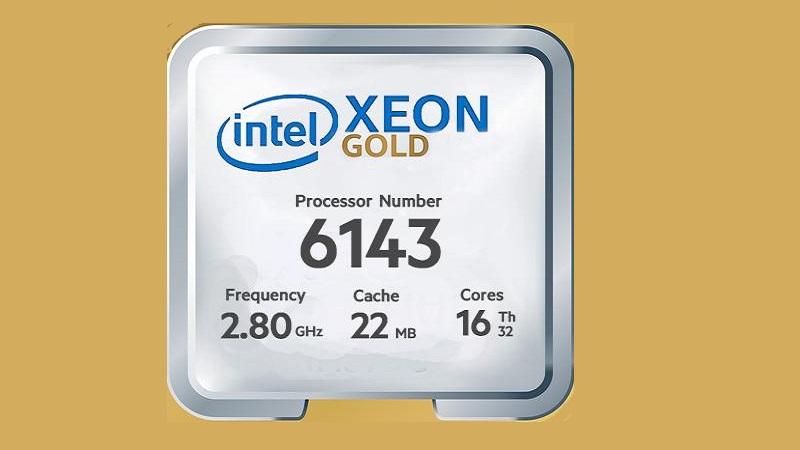مشخصات پردازنده گلد 6143 زئون اینتل (Intel Xeon Gold 6143)