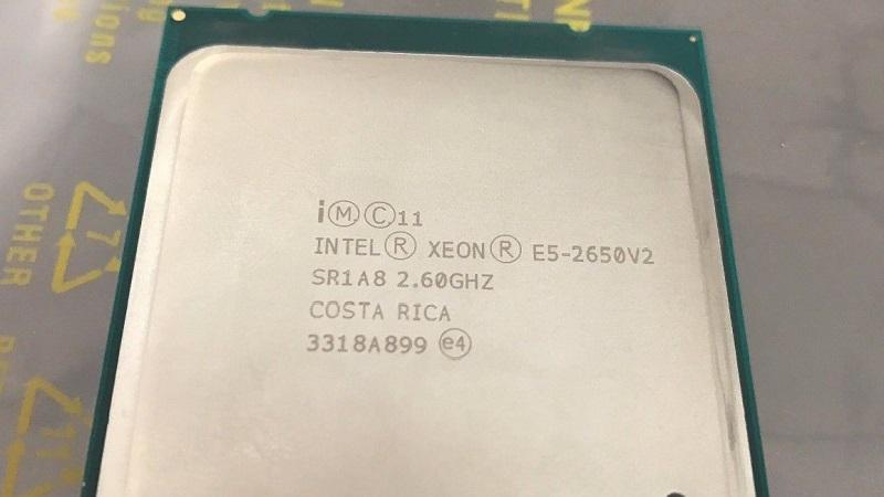 مشخصات پردازنده 2650 وی 2 (Intel Xeon E5-2650 v2)