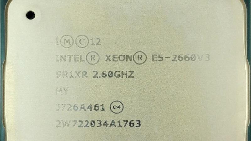 پردازنده سرور E5-2660 v3 اچ پی وی 3 (Intel Xeon E5-2660 v3)