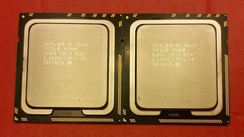 مشخصات پردازنده ایکس 5650 اینتل (Intel Xeon Processor X5650)