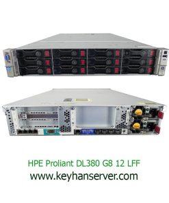 سرور اچ پی DL380 G8 LFF E5-2650v2