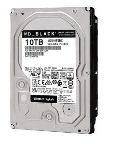 هارددیسک اینترنال وسترن دیجیتال مدل Black WD101FZBX ظرفیت 10 ترابایت