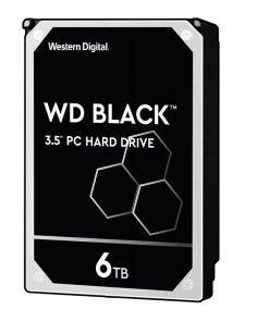 هارددیسک اینترنال وسترن دیجیتال مدل Black WD6003FZBX ظرفیت 6 ترابایت