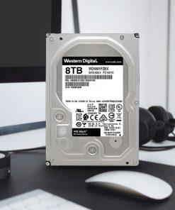 هارددیسک اینترنال وسترن دیجیتال مدل Black WD8001FZBX ظرفیت 8 ترابایت