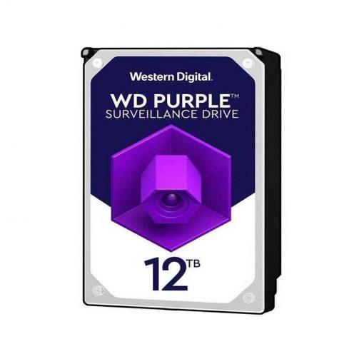 هارددیسک اینترنال وسترن دیجیتال مدل Purple WD120PURZ ظرفیت ۱2 ترابایت