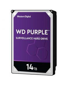 هارددیسک اینترنال وسترن دیجیتال مدل Purple WD140PURZ ظرفیت 14 ترابایت