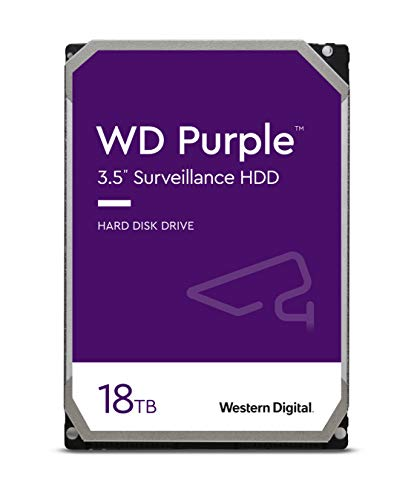 هارددیسک اینترنال وسترن دیجیتال مدل Purple WD180PURZ ظرفیت 18 ترابایت