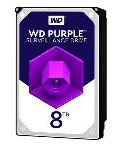 هارددیسک اینترنال وسترن دیجیتال مدل Purple WD80PURZ ظرفیت ۸ ترابایت