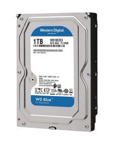 هارد دیسک وسترن دیجیتال مدل BLUE WD10EZEX ظرفیت 1 ترابایت