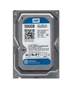 هارد دیسک وسترن دیجیتال مدل BLUE WD5000AZLX ظرفیت 500 گیگابایت
