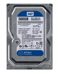 هارددیسک وسترن دیجیتال مدل BLUE WD5000AZLX ظرفیت 500 گیگابایت