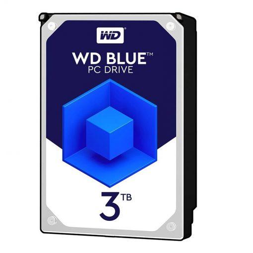 هارددیسک اینترنال وسترن دیجیتال Blue WD30EZAZ ظرفیت 3 ترابایت