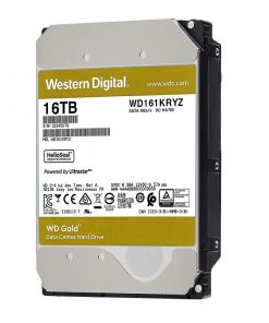 هارددیسک اینترنال وسترین دیجیتال GOLD WD161KRYZ ظرفیت 16 ترابایت