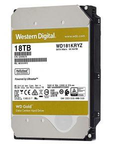 هارددیسک اینترنال وسترین دیجیتال GOLD WD181KRYZ ظرفیت 18 ترابایت