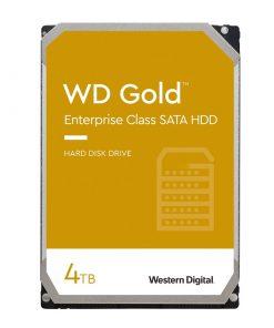 هارددیسک اینترنال وسترن دیجیتال GOLD WD4003FRYZ ظرفیت 4 ترابایت