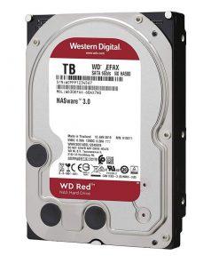 هارددیسک اینترنال وسترن دیجیتال مدل RED WD60EFAX ظرفیت 6 ترابایت