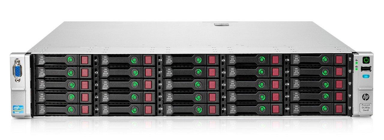 سرور استوک HP ProLiant DL380p Gen8 25SFF E5-2670V1