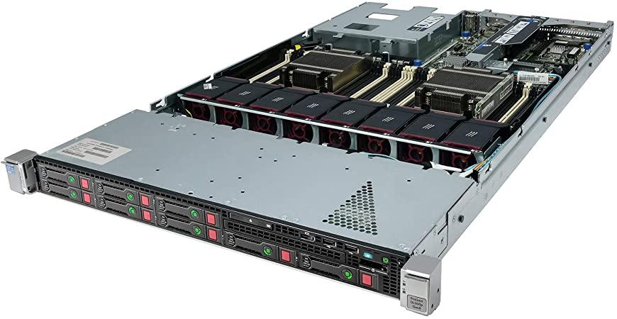 سرور استوک HP DL360p Gen8 8SFF E5-2696 V2