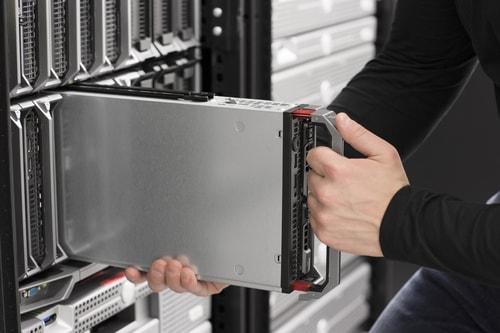 سرورهای تیغه ای HP