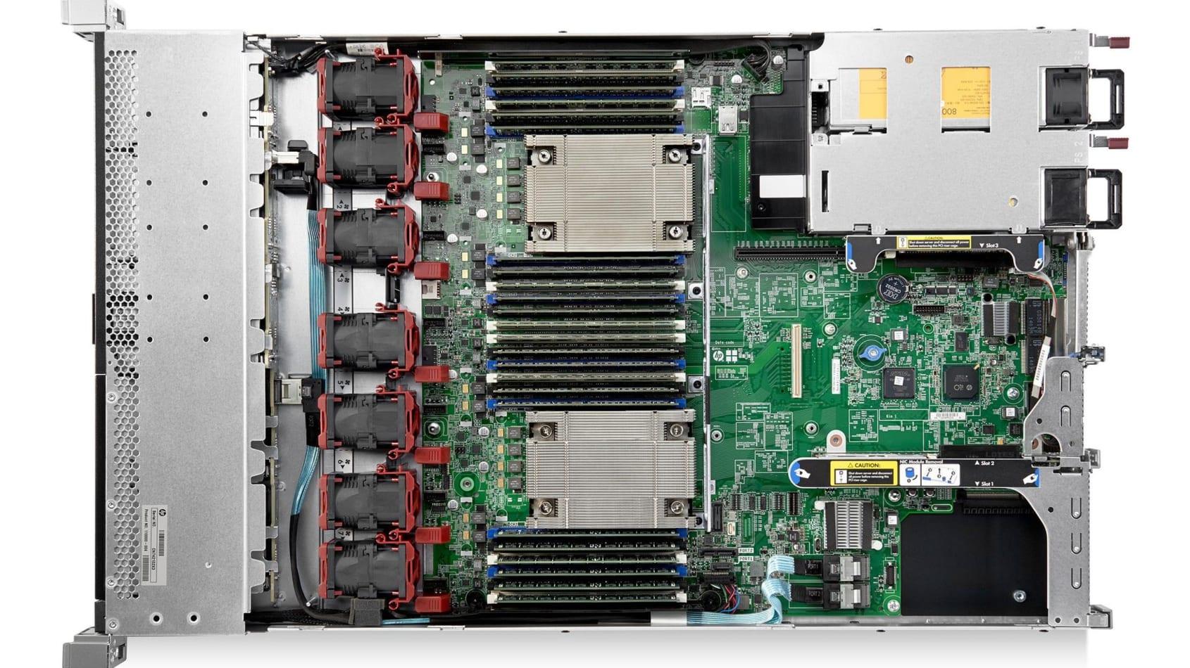 قیمت سرور استوک HP ProLiant DL360 Gen9 8SFF E5-2620 V3